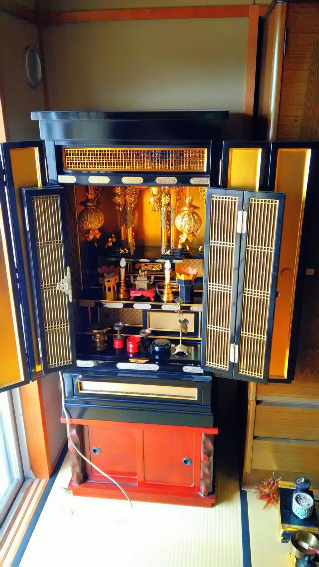 【立山町】仏壇やタンス、ブラウン管テレビ回収☆柔軟な対応で追加品も問題なく回収し大変お喜び頂けました。