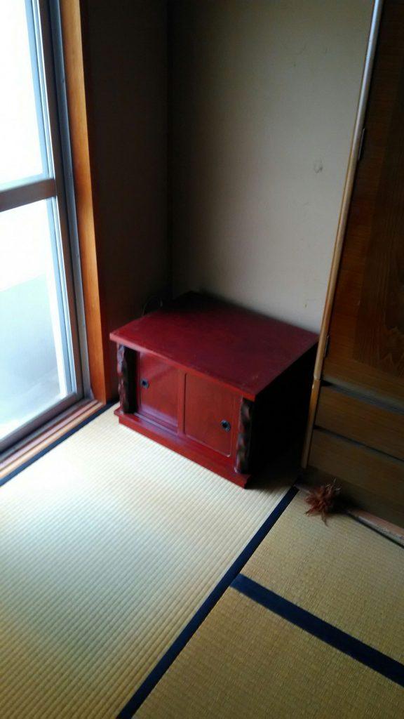 仏壇やタンス、ブラウン管テレビ回収