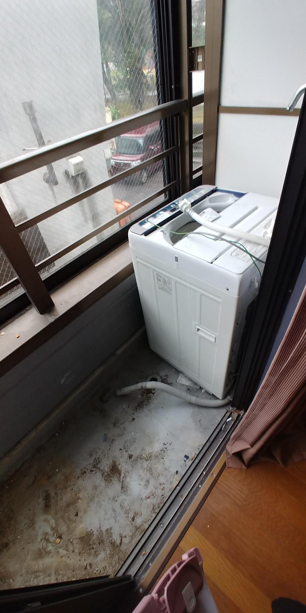 【富山市】洗濯機の回収☆希望日で回収してくれたと喜んでいただけました!