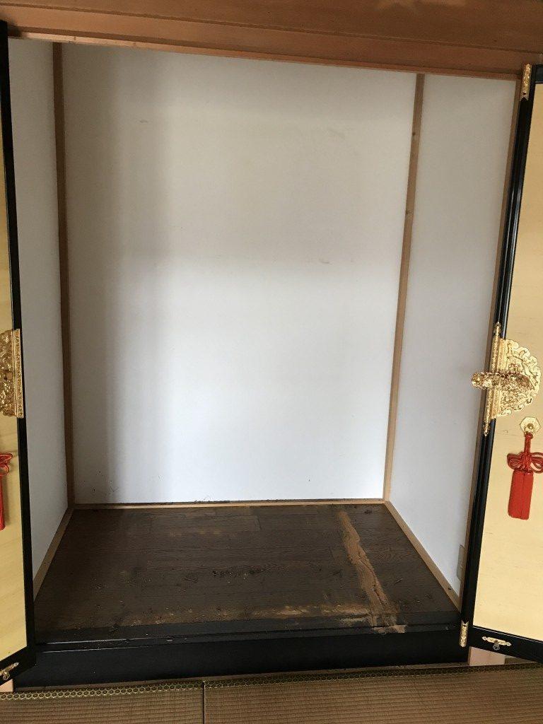 【砺波市】仏壇や神棚の回収のご依頼☆作業前はご不安だった様子ですが、対応に大変ご満足いただけました!