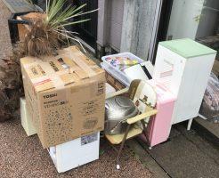 【小矢部市新富町】軽トラ積みホーダイパックでの不用品回収☆一気に片付けることができたと、大変満足していただきました!