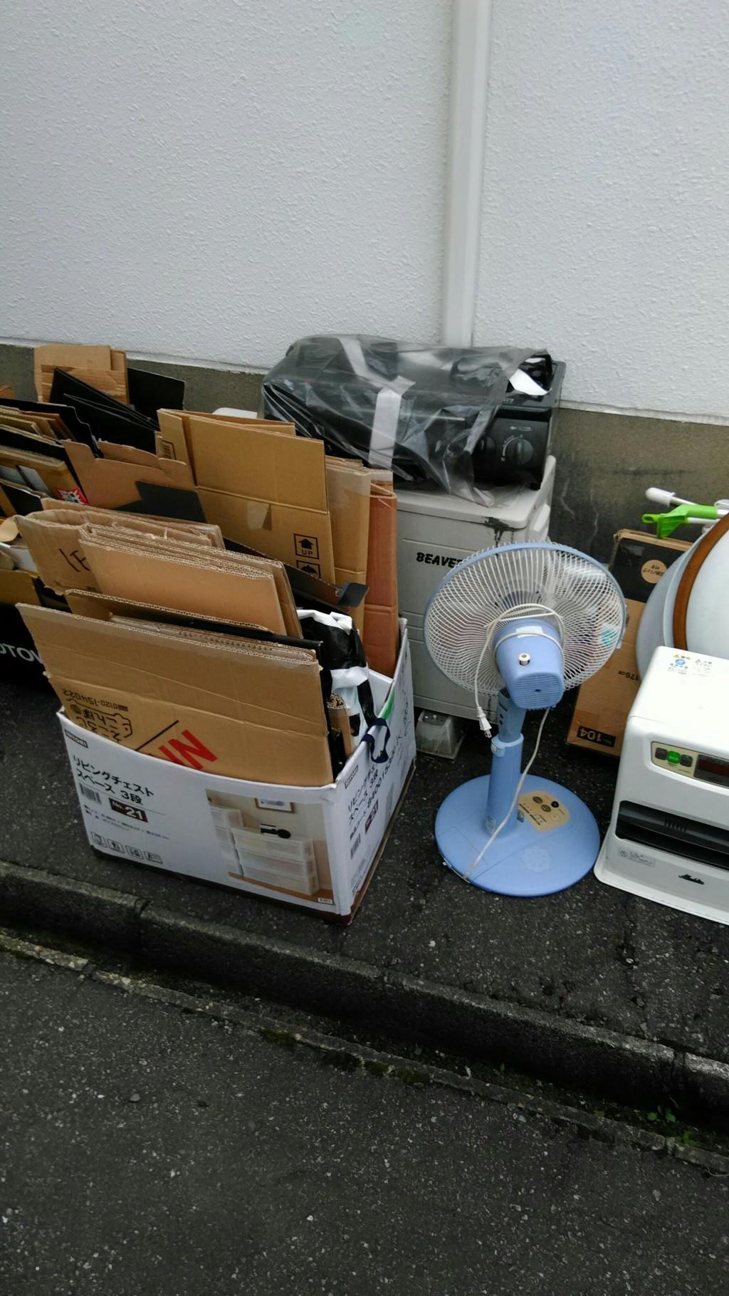 【富山市】軽トラ1台分の回収☆希望日での回収にご満足いただけました!