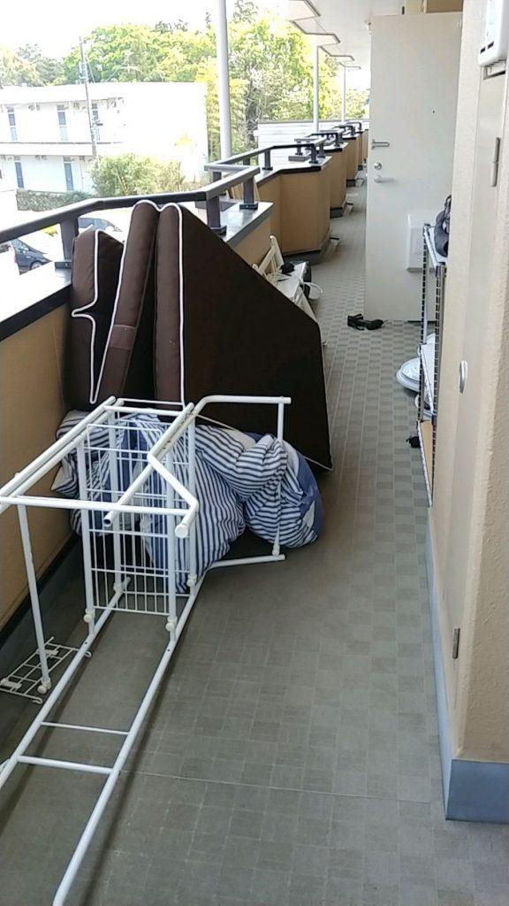 【中央区】遺品整理でマットレス、布団、ベッド枠等の回収・処分ご依頼