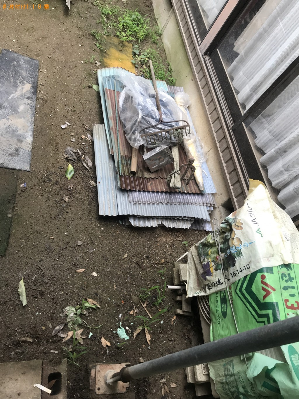 【高岡市五十里西町】木材、土などの出張不用品回収・処分ご依頼