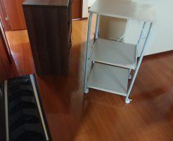 【富山市】食器棚、ロフトベッド、レンジ台の出張不用品回収・処分ご依頼