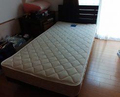 【小矢部】シングルベッド1点の回収・処分 お客様の声