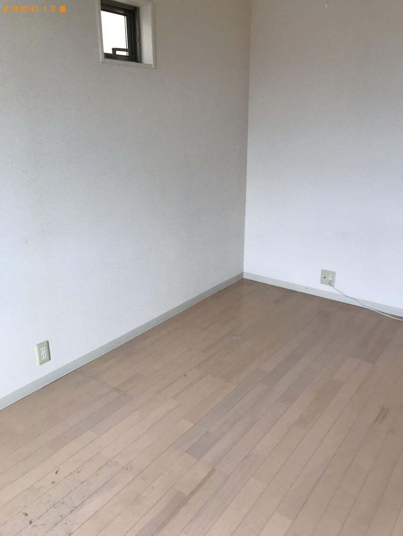 【多摩市】シングルベッド、整理ダンス、学習机の回収・処分 お客様の声