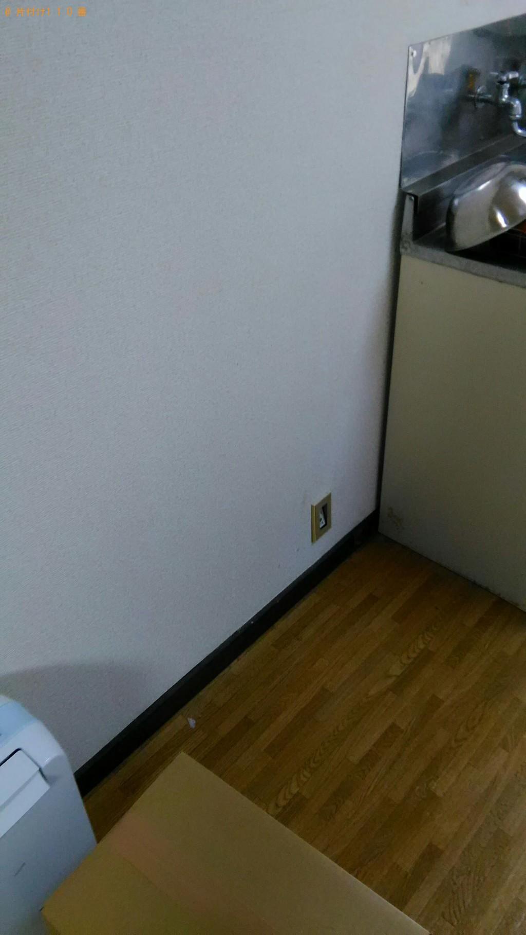 【富山市西中野本町】冷蔵庫、洗濯機、電子レンジ等の回収・処分