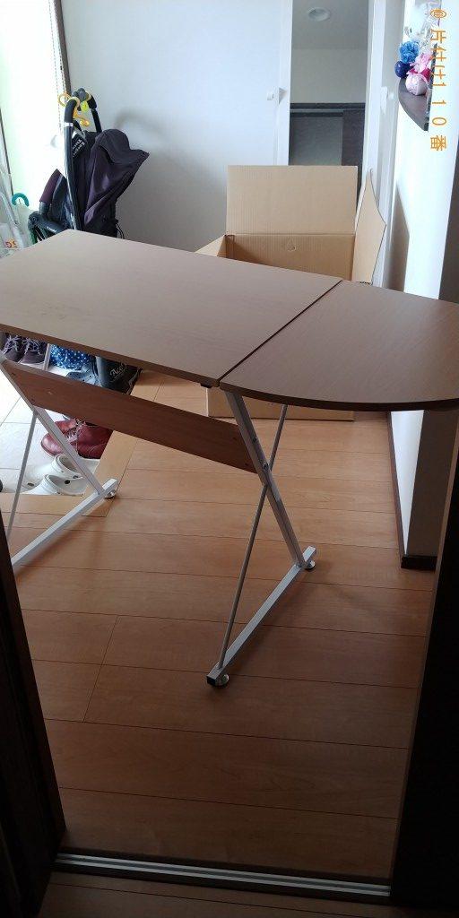 【富山市東富山寿町】カウンターテーブル、ソファーの回収・処分