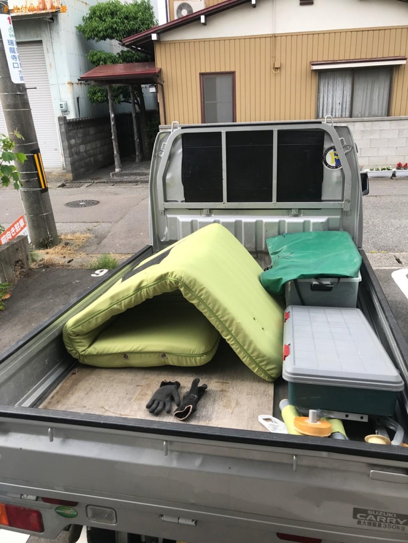 【高岡市】ソファーベッド、小型家電等の回収・処分ご依頼