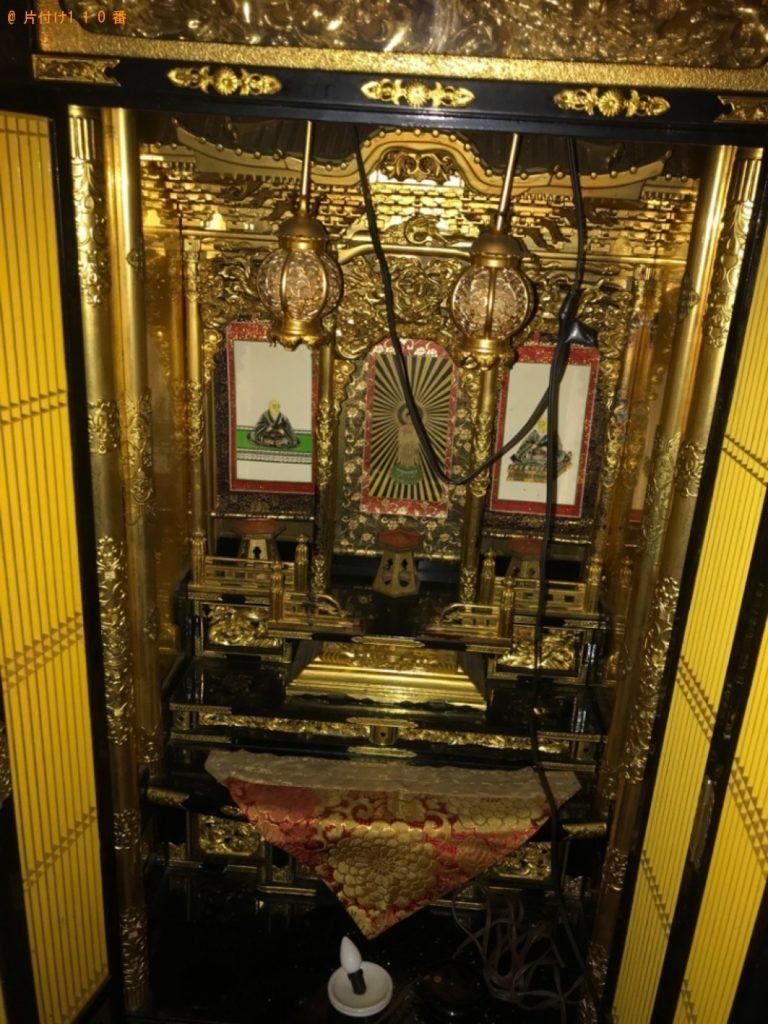 【小平市】遺品整理で仏壇、仏具の回収・処分ご依頼 お客様の声