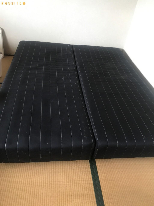 【砺波市】タンス、シングルベッド、ベッドマットレスの回収・処分