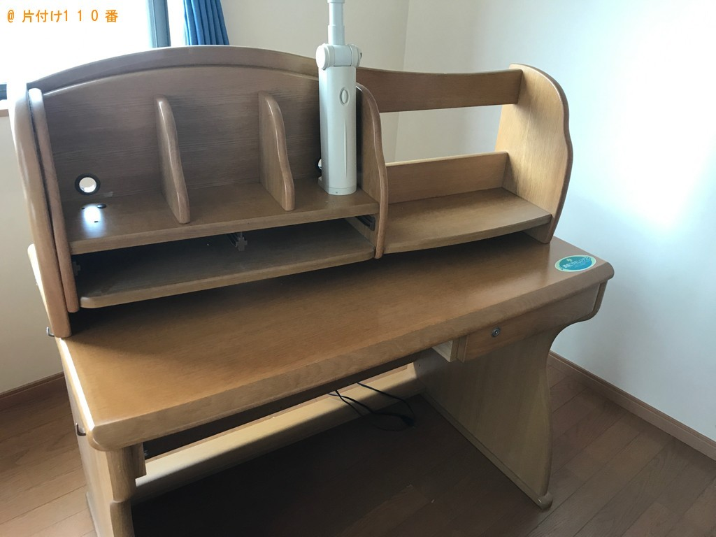【富山市】学習机、椅子の回収・処分ご依頼 お客様の声