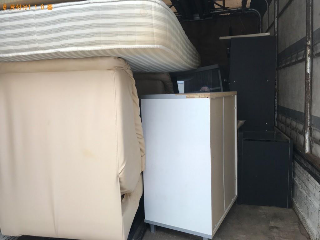【氷見市】本棚、シングルベッド等の回収とハウスクリーニングご依頼
