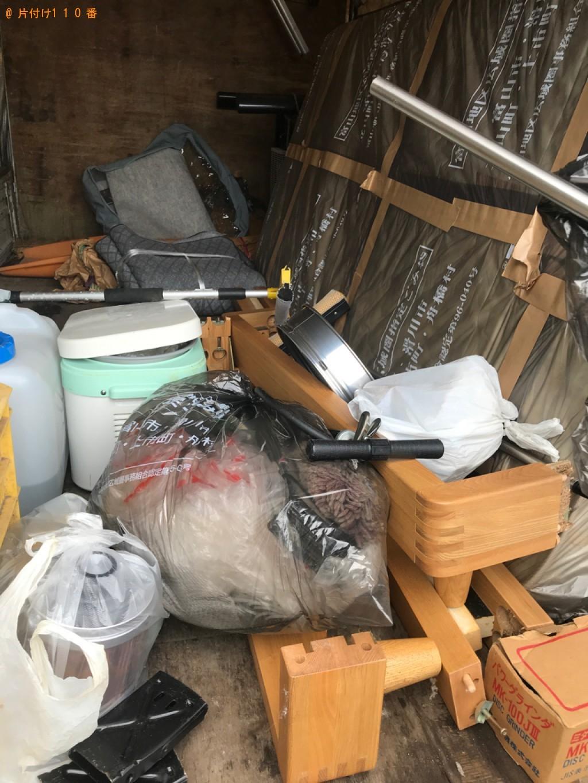 【台東区】遺品整理でこたつ、マットレス付きシングルベッド等の回収