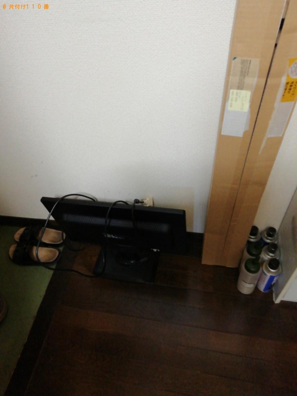【富山市】モニター、セミダブルマットレスの回収・処分ご依頼