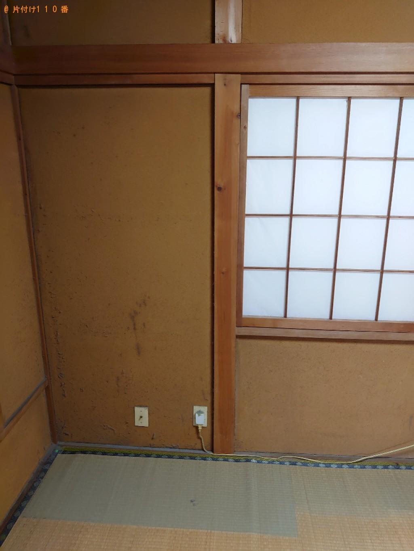 【富山市】タンスの回収・処分ご依頼 お客様の声