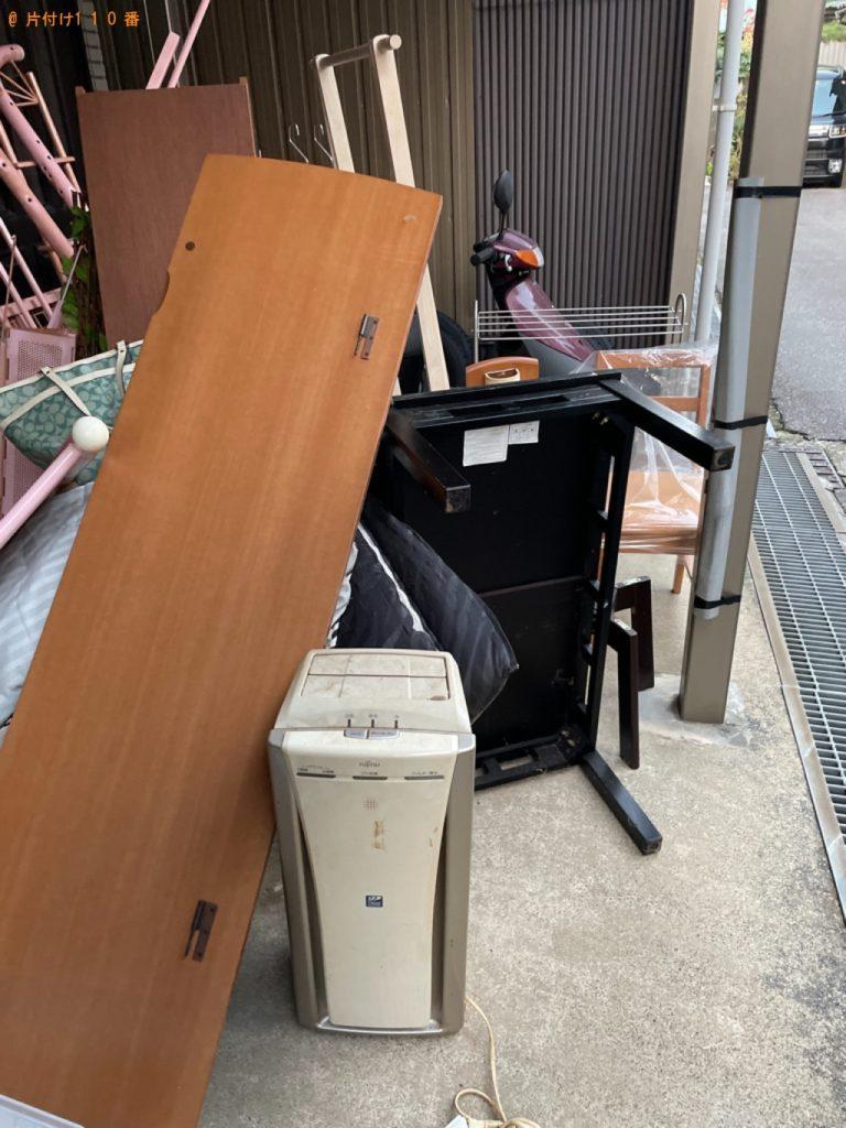 【日野市】遺品整理に伴い本棚、ロフトベッド、PCデスク、椅子等の回収