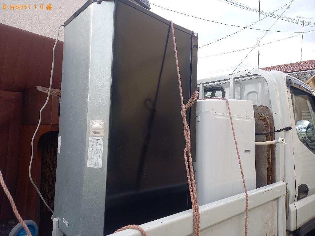 【富山市】冷蔵庫、洗濯機、ガス台の回収・処分ご依頼 お客様の声