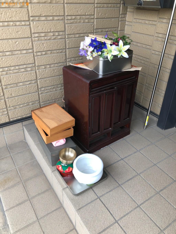 【富山市】仏壇、仏具の回収・処分ご依頼 お客様の声