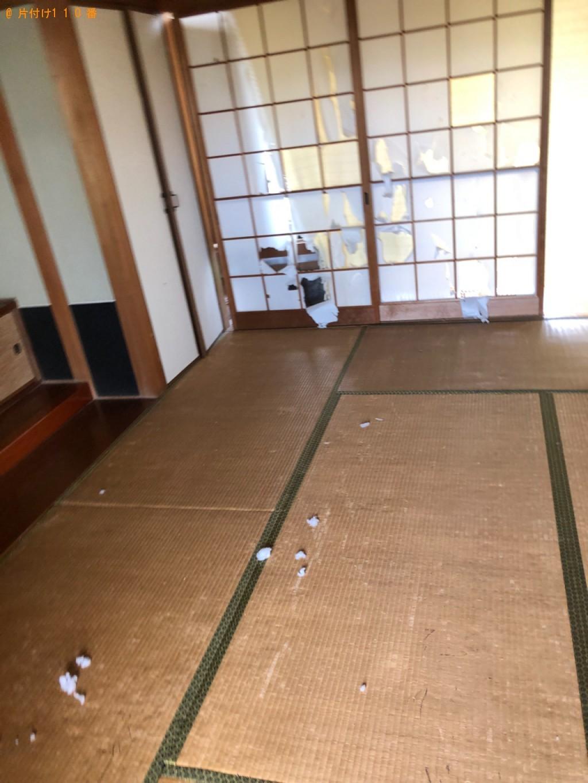 【富山市】こたつ、スタンドミラー、タンス、折り畳みベッド等の回収