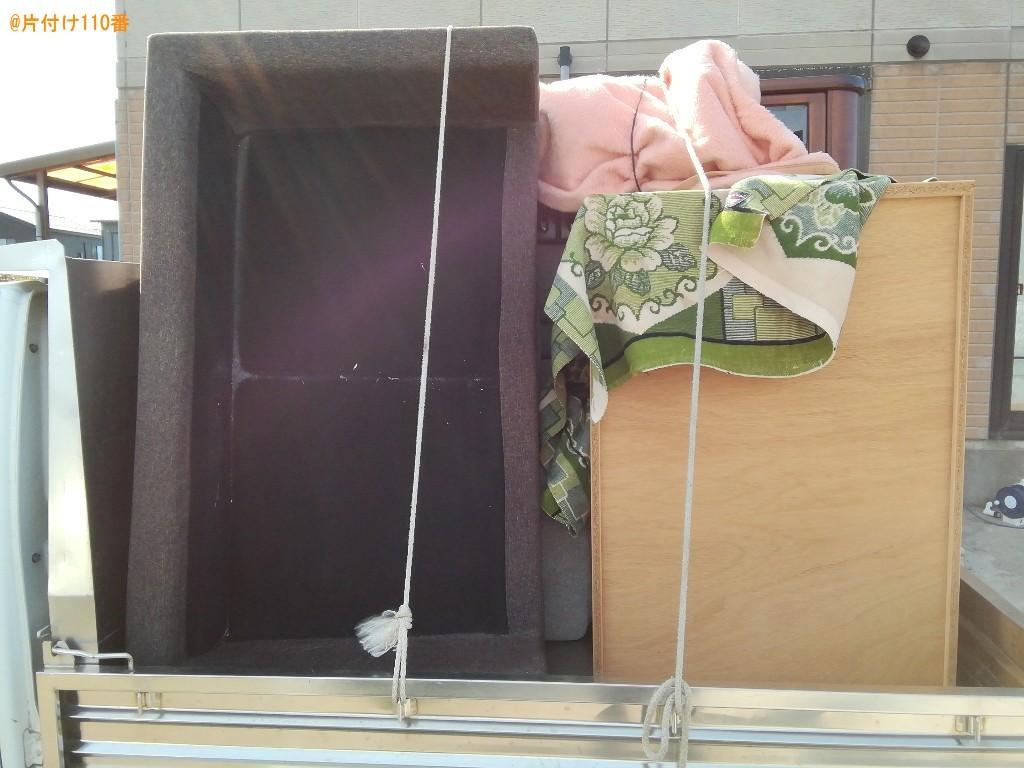 【富山市】タンス、二人掛けソファーの回収・処分ご依頼 お客様の声