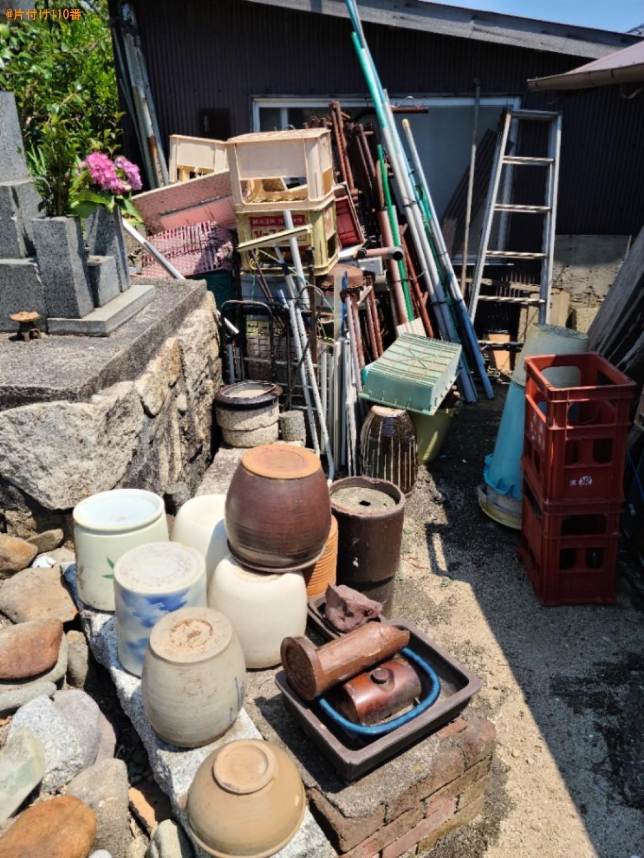 陶器、プラスチック容器、バケツ、脚立等の回収・処分ご依頼