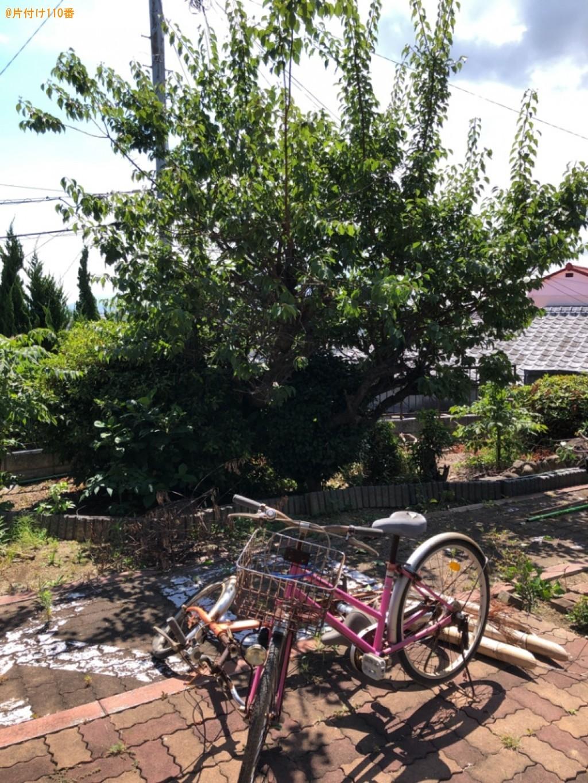 自転車の回収、木の剪定ご依頼 お客様の声