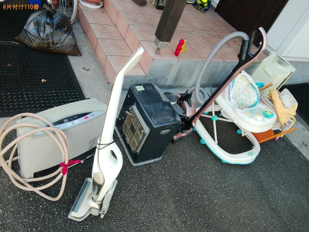 【富山市新根塚町】マッサージチェア、ベビー用品、掃除機等の回収